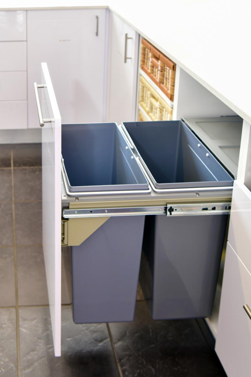 Dual recycle bin