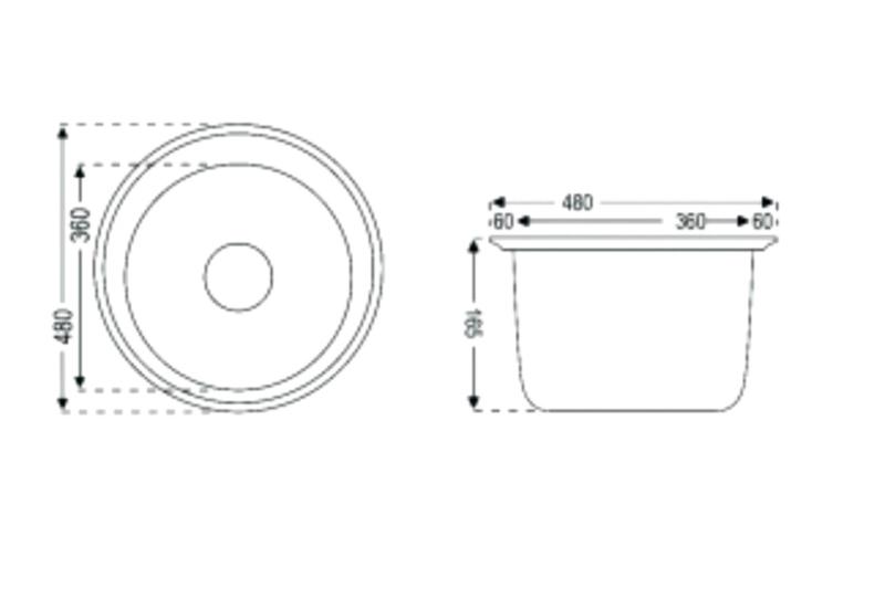 Oval Sink Diagram