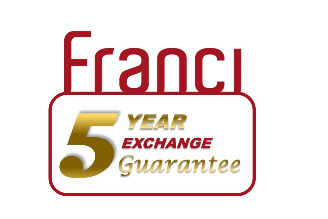 Franci brand Guarantee