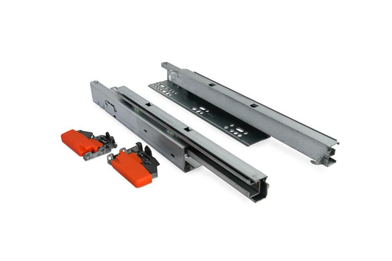 Undermount Drawer Slides With Soft Close 400mm & 500mm